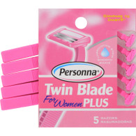 Personna Razor Blades - Twin Blade Plus - 5 Pack