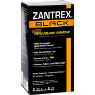 Zantrex Black - Rapid Release - 84 Softgels