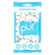 Pur Gum - Peppermint - Aspartame Free - 60 Pieces - 80 g - Case of 12