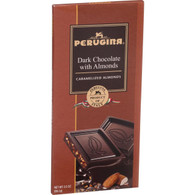 Perugina Chocolate Bar - Dark Chocolate - Almonds - 3.5 oz Bars - Case of 12