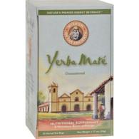 Wisdom Natural Yerba Mate Herbal Tea Unsweetened - 25 Tea Bags