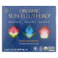 Sun Chlorella Organic Sun Eleuthero - 240 Tablets