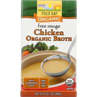 Field Day Broth - Organic - Chicken - 32 oz - case of 12