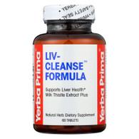 Yerba Prima Liv-Cleanse Formula 650 mg - 60 Tablets