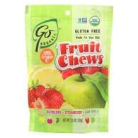 Go Organic Fruit Chews - 3.5 oz - Case of 6