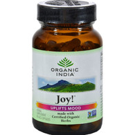 Organic India Joy - 90 Vegetarian Capsules