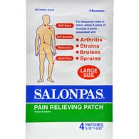 Salonpas Pain Relief Patch - Large - 4 Pack