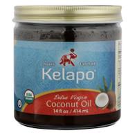 Kelapo Extra Virgin Coconut Oil - Case of 6 - 14 oz.