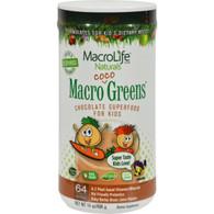 MacroLife Naturals Jr. Macro Coco-Greens for Kids Chocolate - 14 oz