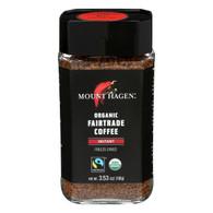 Mount Hagen Organic Instant Coffee - Coffee - Case of 6 - 3.53 oz.