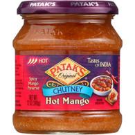 Pataks Chutney - Hot Mango - Hot - 12 oz - case of 6