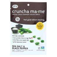 Eda-Zen Cruncha Ma Me - Sea Salt and Black Pepper - .7 oz - Case of 8