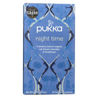 Pukka Herbal Teas Tea - Organic - Night Time - 20 Bags - Case of 6