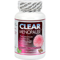 Clear Products Clear Menopause - 120 Cap
