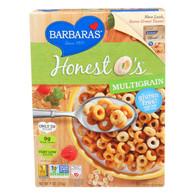 Barbara's Bakery Honest O's Cereal - Multigrain - Case of 6 - 9 oz.