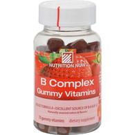 Nutrition Now B Complex Gummy Vitamins Strawberry - 70 Gummies
