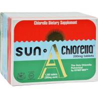 Sun Chlorella A Tablets - 200 mg - 1500 Tablets