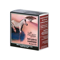 Light Mountain Natural Hair Color and Conditioner - Burgundy - 4 fl oz
