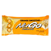 Nugo Nutrition Bar - Orange Smoothie - Case of 15 - 1.76 oz