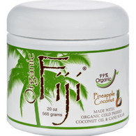 Organic Fiji Sugar Polish Pineapple Coconut - 20 oz