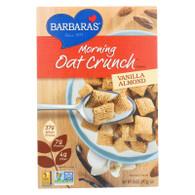 Barbara's Bakery Morning Oat Crunch Cereal - Vanilla Almond - Case of 6 - 14 oz.