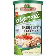 Old Wessex Oat Meal - Organic - Irish-Style - 18.5 oz - case of 12