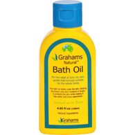 Grahams Natural Bath Oil - Dry Itchy Skin - 4.05 oz
