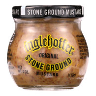 Inglehoffer Mustard - Stone Ground - 4 oz - case of 12