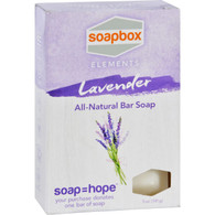 SoapBox Bar Soap - Elements - Relax - Lavender - 5 oz