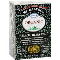 St Dalfour Organic Black Cherry Tea - 25 Tea Bags