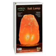 Himalayan Salt Lamp 12 inch Wood Base