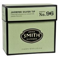 Smith Teamaker Green Tea - Jasmine Slvr Tp - Case of 6 - 15 Bags