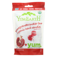 Yummy Earth Organic Candy Drops Pomegranate Pucker - 3.3 oz - Case of 6