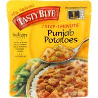 Tasty Bite Entree - Indian Cuisine - Punjab Potatoes - 10 oz - case of 6