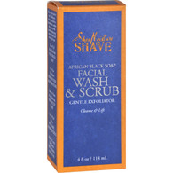 SheaMoisture African Black Soap Facial Wash and Scrub - 4 fl oz