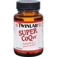 Twinlab Super CoQ10 - 50 mg - 60 Capsules
