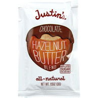 Justins Nut Butter Hazelnut Butter Blend - Chococolate - Squeeze Pack - 1.15 oz - case of 60