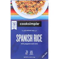Cooksimple Spanish Rice - 4 oz - case of 6