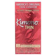 Mayer Laboratories Kimono Premium Thin Latex Condoms - 12 Pack