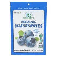 Natierra Fruit - Organic - Freeze Dried - Blueberries - 1.2 oz - case of 12