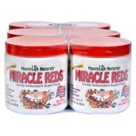 MacroLife Naturals Miracle Reds Antioxidant Super Food 6 servings - Case of 6 - 2 oz