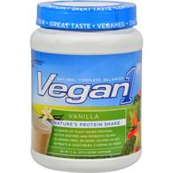 Nutrition53 Vegan1 Shake - Vanilla - Gluten Free - 1.5 lbs