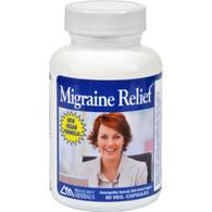 RidgeCrest Herbals Extra Strength Migraine Relief - 60 Capsules