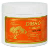 DMSO Cream with Aloe Vera Rose Scented - 4 oz