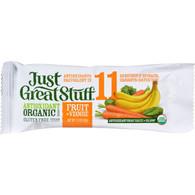 Betty Lou's Bar - Organic Fruit and Veggie - Case of 12 - 1.5 oz