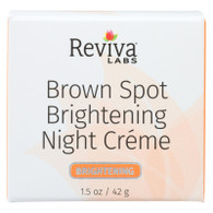 Reviva Labs Brown Spot Night Cream Skin Lightening - 1 oz