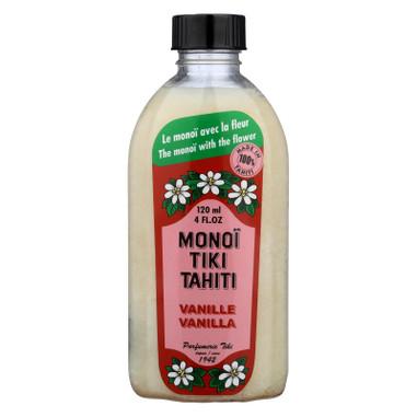 Monoi Tiare Tahiti Coconut Oil Vanilla - 4 fl oz