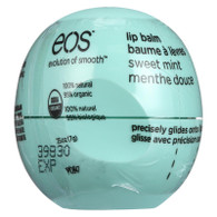 EOS Products Lip Balm - Organic - Smooth Sphere - Sweet Mint - .25 oz - case of 8