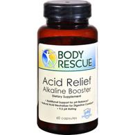 Peelu Body Rescue Acid Relief Alkaline Booster - 60 Capsules