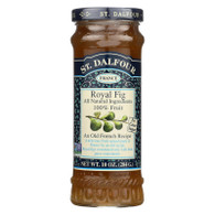 St Dalfour Fruit Spread - Deluxe - 100 Percent Fruit - Royal Fig - 10 oz - Case of 6